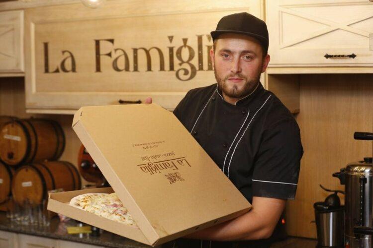 Піца з собою від La Famiglia
